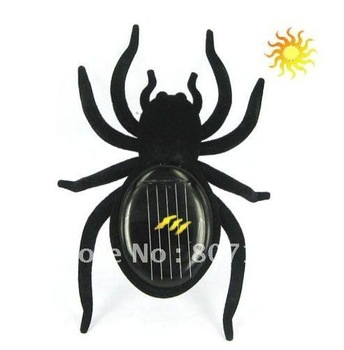 Free shipping, Wholesale (20pcs), New Arrival !  Toy Solar,Solar Toy Spider Robot Insect Gift Educational for Kids