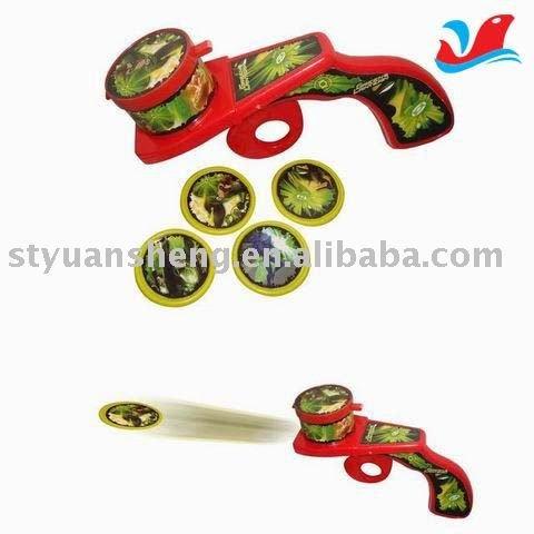 Wholesale sales series Flying disk gun(China (Mainland))