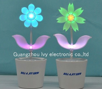 free shipping Flower Rock 2.0 / dancing flowers / music speaker emitting electronic flowe