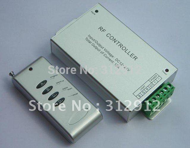 8key LED RF Controller(Aluminum version) DC12-24V input(China (Mainland))