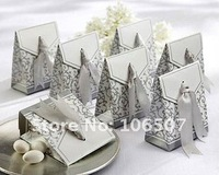 Quality Guarantee,200PCS Favour Gift Box favor box Wedding Supplies-Wholesale and retail