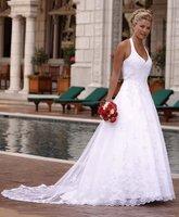 free Satin Corded Edge Bridal Veils/Satin Corded Edge Bridal Veils Shiny Sweetheart Court Train Wedding Dress Floral Gown pettic