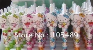 Factory Price Wholesale !!! Cute Hello Kitty Ball Pen Cartoon Ball Pen E0227(China (Mainland))