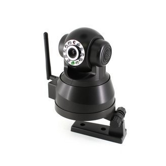 Free Shipping Wireless WiFi IR Pan/Tilt IP Network CCTV Security Surveillance PTZ Camera + Easy Operation(China (Mainland))