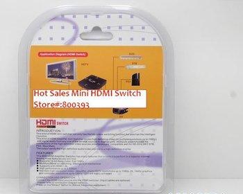 FREE SHIPPING. 3x1 HDMI Switch Mini HDMI-301