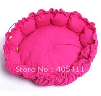 Free shipping! warm Pet Beds dog sofa Pet Nest luxury Dog nest Luxury warm round/ pet seat  size :50*40*15