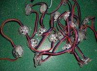 DC12V TM1803 pixel module, with 3pcs 5050 RGB SMD LED,30mm diameter,20pcs a string