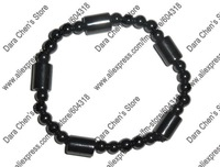 New arrival black hemitite bead fashion bracelet special offer