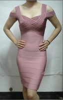 Free Shipping Free Shipping H L Bandage Dress,Women's Bandage Celebrity Evening Dress
