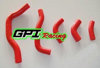 RED for HONDA CRF450 CRF 450 2005 05 dirt bike motocross silicone radiator hose PIPE