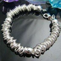 Wholesale 925 silver Bracelet, 925 silver jewelry Bracelet / 925 silver Bracelet with pendant free shipping LKB070