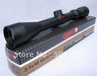 Free shipping GAMO 3-9X40 RIFLE SCOPE WITH FREE MOUNTS