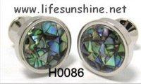 FreeShipping-  Shell Cufflinks,Cufflinks,Cufflinks for Men,Customized Cufflinks,Designer Cufflinks,Novelty Cufflinks,