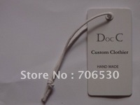 Customized Clothing Labels, Paper Hangtags, Garment Hangtags, Swing Tags, High Quality, Best Service