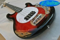 4 strings bass Musicman red BK Electric BASS 09