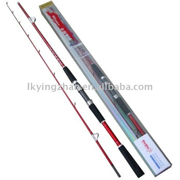 wholesale price 2.1m length great quality carbon boat fishing rod