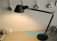 Free Shipping Classical Modern Good Quality Job Desk Table Lamp With Hot Selling Aluminium Light Black
