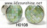 FreeShipping-Shell Cufflinks,Cufflinks,Cufflinks for Men,Customized Cufflinks,Designer Cufflinks,Novelty Cufflinks,