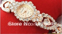 ladies watch,crsytal diamond watch ,wrist watch hot sale ,free shipping and Mix Order 133833 9