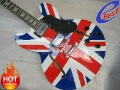 ES 335 with UK national flag semi hollow JAZZ Electric guitar Gjz04