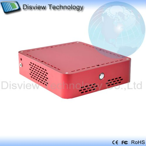 Ultra-small size Mini PC Computer_DI525R1-UDL: CPU Dual D510/525 1.8GHz/RAM 2GB/ HDD 250GB/Dual LAN(Hong Kong)