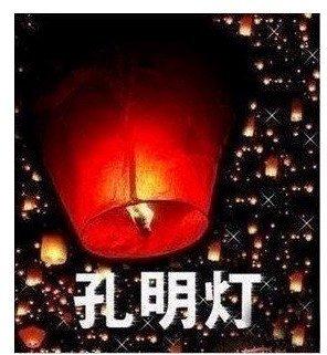 10pcs/lot Free Shipping Sky Lanterns,chinese paper lanterns,light inside