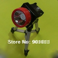 Hot sale Blue Light LED Mining Headlight/Headlamp/Fishing Light/Hiking Light come with Tripod (Free Shipping)