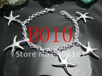 Wholesale-10pcs 925 sterling silver bracelet fashion jewelry  A09