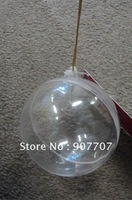 Plastic Transparent Christmas Balls