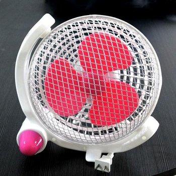 wholesale,Free shipping,360-degree rotating silent fan / desk fan of students