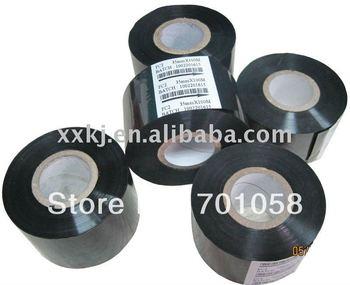 Black color 30mm*122M Thermal transfer foil Print EXP/LOT for HP241B coder