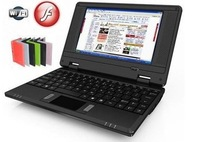 Free shipping ! New 7 inch Android 4.0 VIA 8850 DDR3 512M 4GB HDD HDMI Camera WIFI RJ45 Netbook Laptop Notebook
