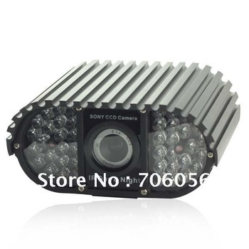 "Free Shipping by DHL/EMS/UPS,Effio 1/3"" Sony 700TVL 42 IR Leds Waterproof Sony CCD Camera E84"