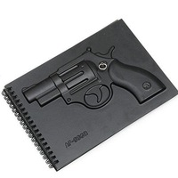 wholesale,Free shipping,Fashion Black 4 Series Notebook / Notepad