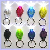 Colorful Photon Light with Keychain Flashlight Micro Light