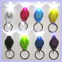 Colorful Photon Light with Keychain Flashlight Micro Light