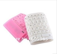 New Style Keyboard USB Wireless Flexible Roll-Up Silicone FR 2.4GHz 127 Keys High Quality Fast Post