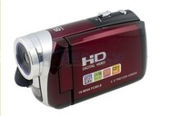 "FREE SHIPPING 3.0"" LCD 16.0 MP Digital Video Camcorder Camera DV Red"