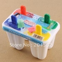 Free shipping BangBing mode box of ice cream mould lovely four-color Popsicle mold