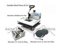 4 in 1 Combo Heat Press Machine,press machine,mug/cap/plate/T-shirt heat press machine,heat transfer machine,sublimation machine