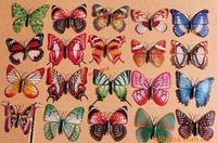 1000pcs/lot Simulation butterfly