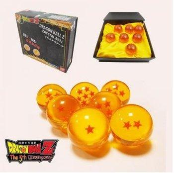 5set/lot cartoon DragonBall Z Stars Crystal Ball Set of 7pcs New In Box free shipping