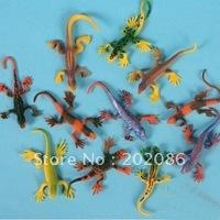 Wholesale Lizard Figure toys lizard models Education toys 10pcs/bag 200pcs/lot fast delivery free shipping