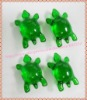 Hot Wholesale!!! Free shipping OEM 3.0gram green turtle-shaped Bath oil