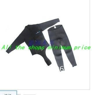 Two sets of wholesale heat 3 MM SCR warm long-sleeved diving suits, diving suits