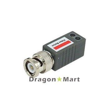 LLT-202E,1 CH Passive UTP Video Balun,1 CH Video Transceiver,Color 400m,B/W 600m,Screw type