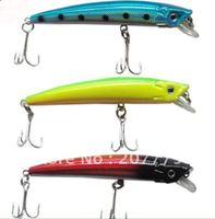 40 pcs plastic hard lure mix 8 desgin fishing lure free shipping