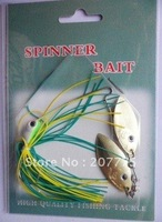 Wholesale 50pcs Spinner Bait 11.1g 0.375oz Many colors available fishing tackle for sea fly fishing free shipping