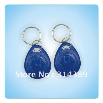 free shipping!100 pcs EM 4100/4102 Keychains Key Chain Key Ring Non-standard Atypia Abnormal Heterogeneous card tag fob