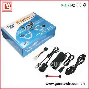 Free shipping/USB TO SATA/IDE Adapter/ USB TO SATA IDE Adapter